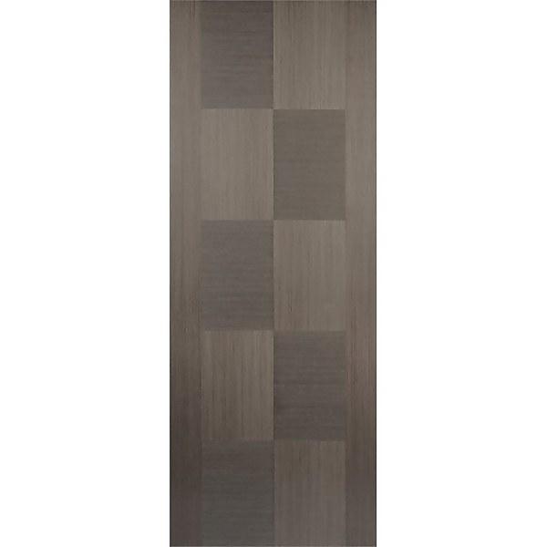 Apollo Internal Prefinished Chocolate Grey Door - 838 x 1981mm