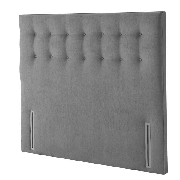 Silentnight Goya Full Height Headboard - Slate Grey - King