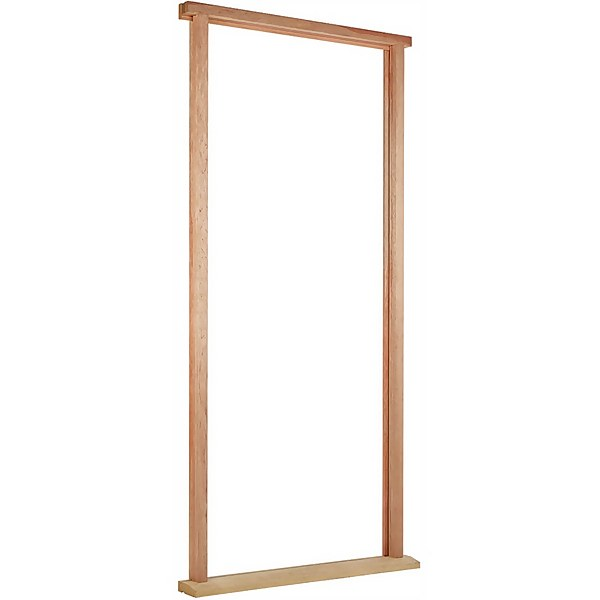Door Frame and Cill External Unfinished Hardwood With Weather Seal - To Suit Door Size 813 x 2032mm