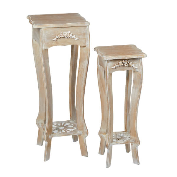 Provence Plant Stand - Set of 2
