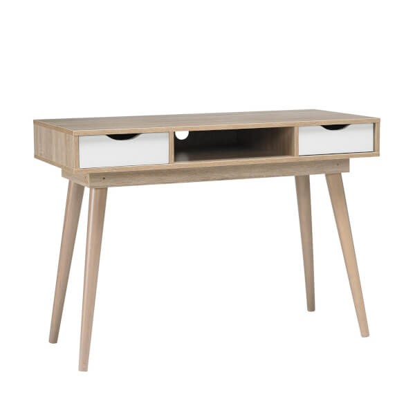 Scandi Desk - White