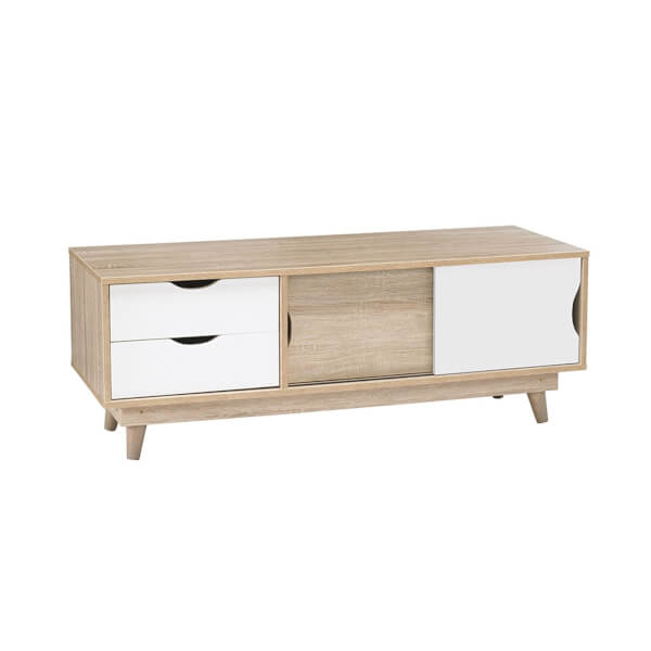 Scandi TV Media Unit - White