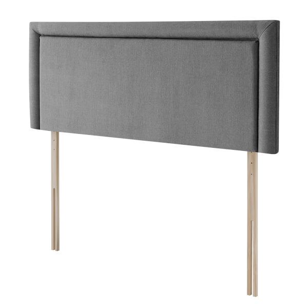 Silentnight Malvern Strutted Headboard - Slate Grey - King