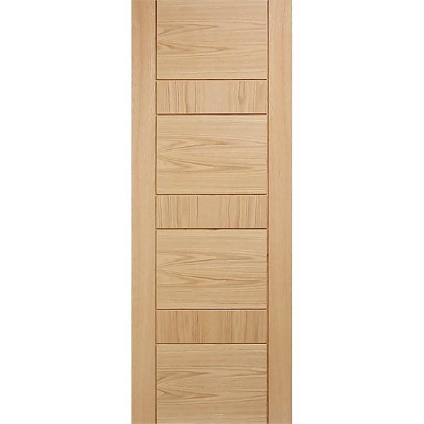 Edmonton Internal Prefinished Oak Fire Door - 838 x 1981mm