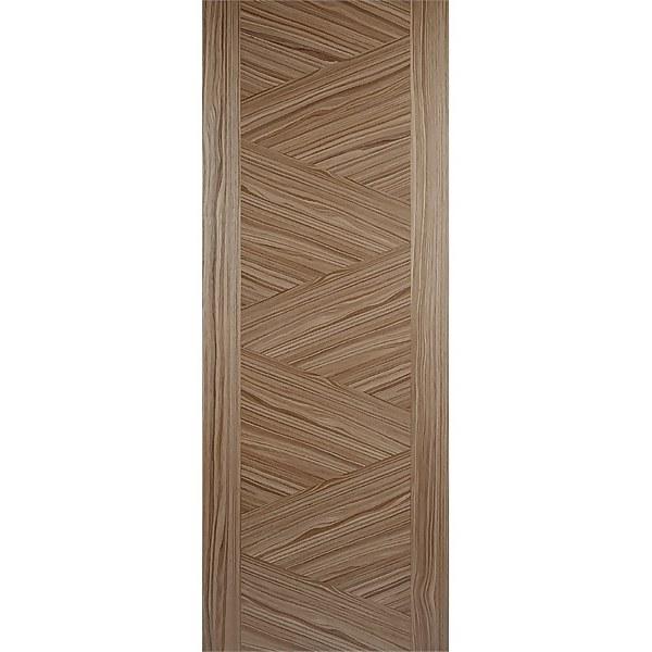 Zeus Internal Prefinished Walnut Door - 762 x 1981mm