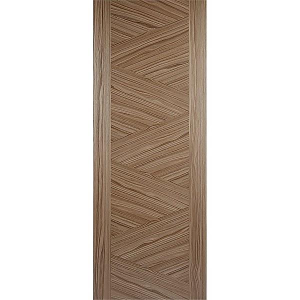 Zeus Internal Prefinished Walnut Door - 838 x 1981mm