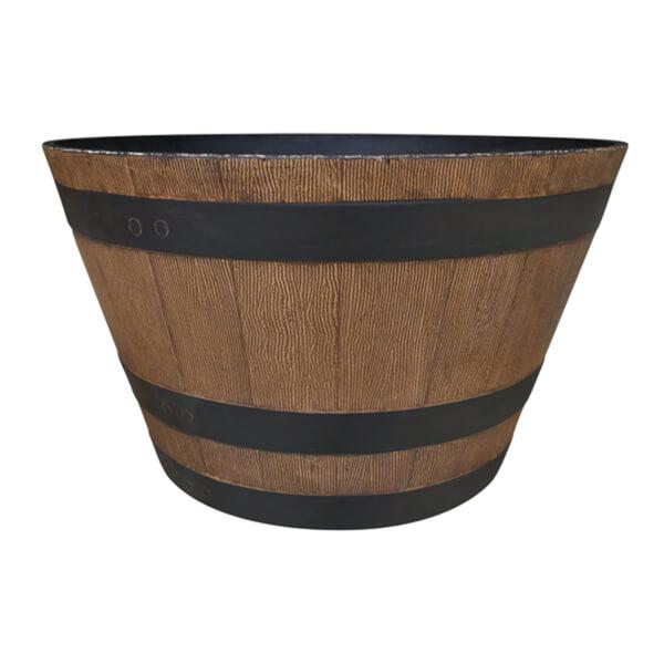 3 Band Whiskey Barrel 52cm