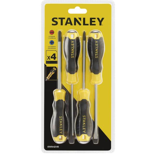 Stanley 4 Piece Essential Screwdriver Set
