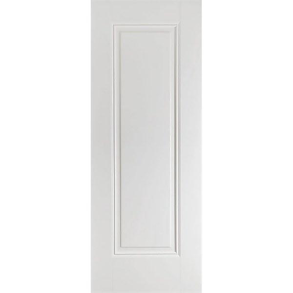 Eindhoven Internal Primed White 1 Panel Fire Door - 838 x 1981mm