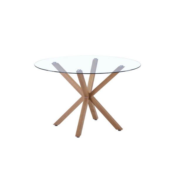 Ludlow Dining Table - Glass