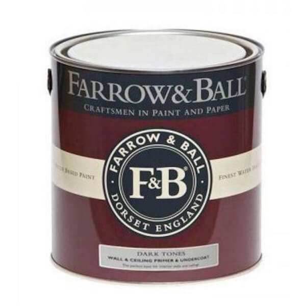 Farrow and Ball Wall-Ceiling Primer Undercoat - Dark Tones - 2.5L