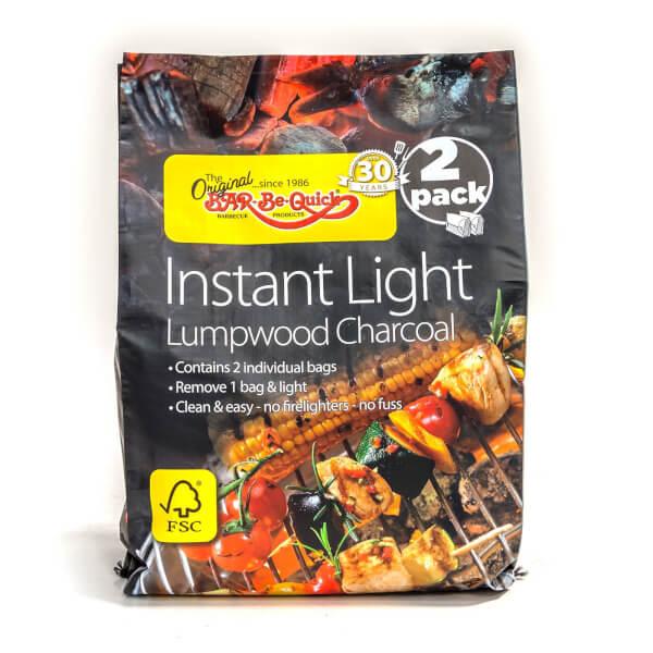 Bar-Be-Quick FSC 2pk Instant Lighting Charcoal