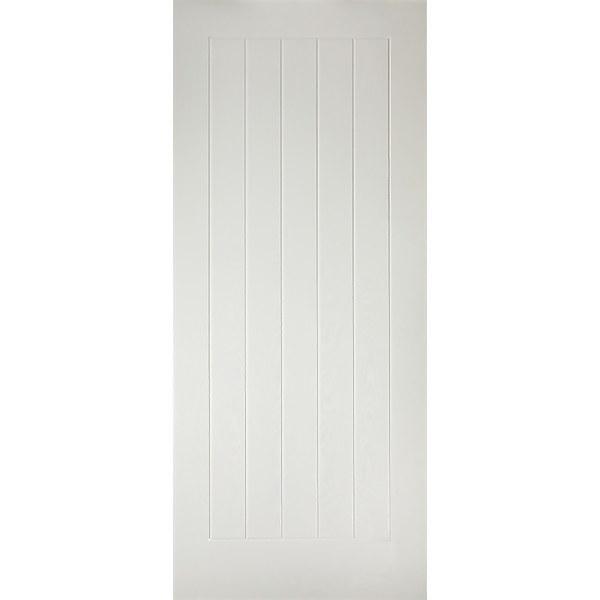 Mexicano External White GRP Door - 813 x 2032mm