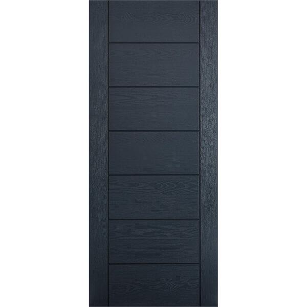 Modica External Anthracite Grey GRP Door - 813 x 2032mm