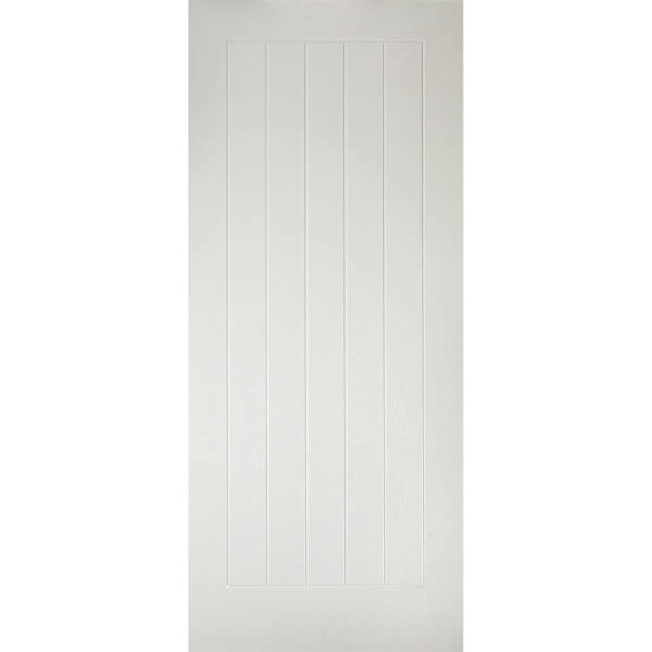Mexicano External White GRP Door - 838 x 1981mm