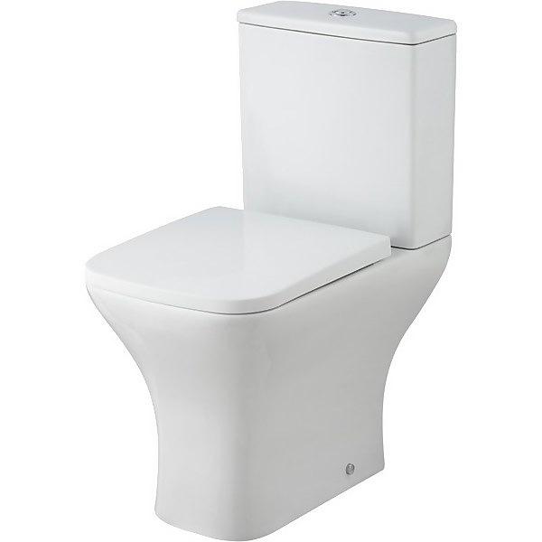 Balterley Faron Pan, Cistern and Soft Close Toilet Seat