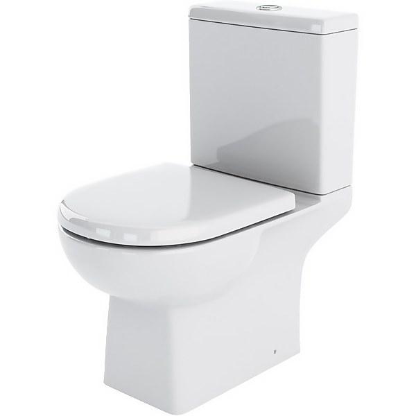 Balterley Destin Pan, Cistern Soft Close Toilet Seat