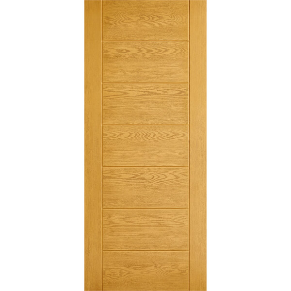 Modica External Oak GRP Door - 813 x 2032mm