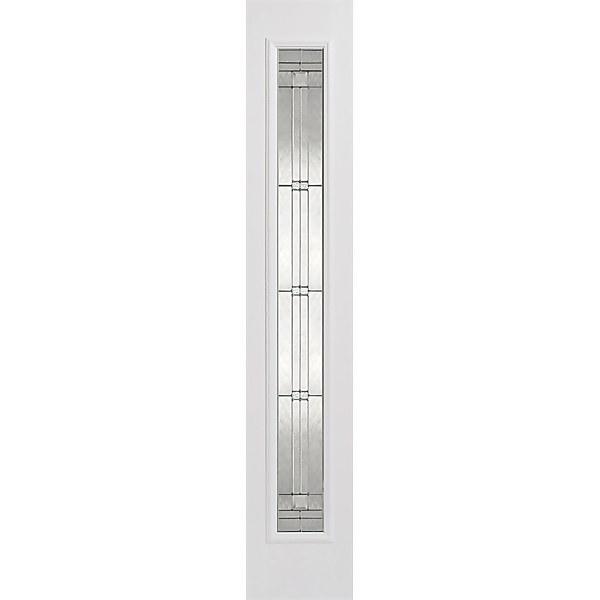 Elegant External Glazed White GRP 1 Lite Sidelight - 356 x 2032mm
