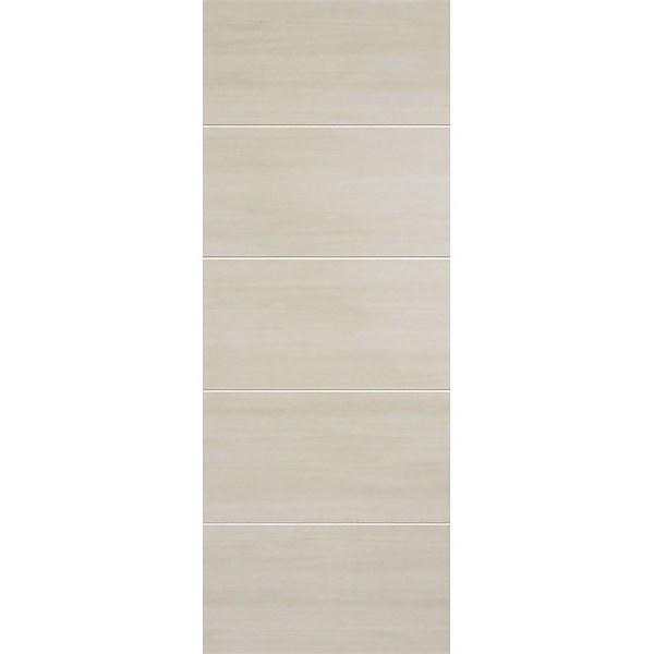 Santandor Internal Ivory Laminate 5 Panel Door - 686 x 1981mm
