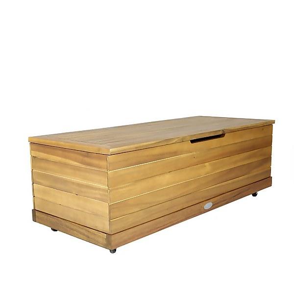 Charles Bentley Wooden FSC Acacia Outdoor Storage Box