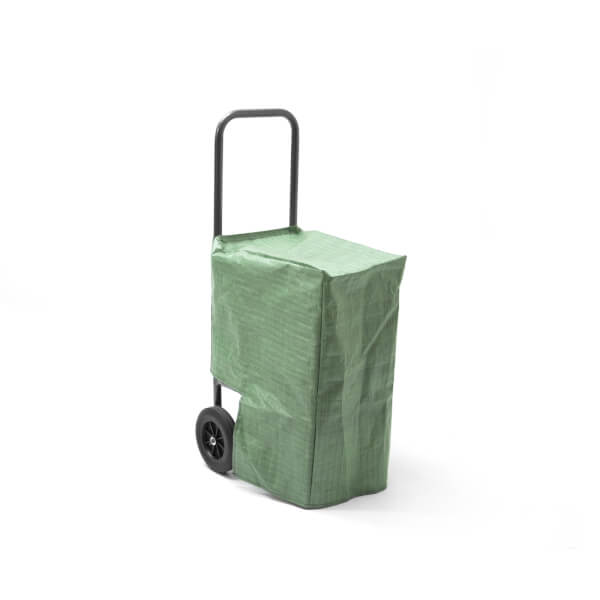 Handy Log Cart With Cover