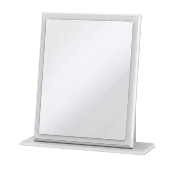 Florence White Ash Small Mirror