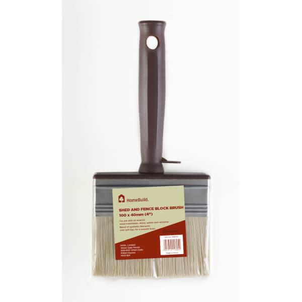 HomeBuild Shed & Fence Block Brush - 4