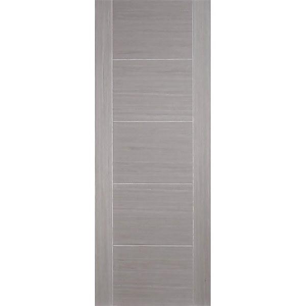 Vancouver Internal Prefinished Light Grey 5 Panel Fire Door - 838 x 1981mm