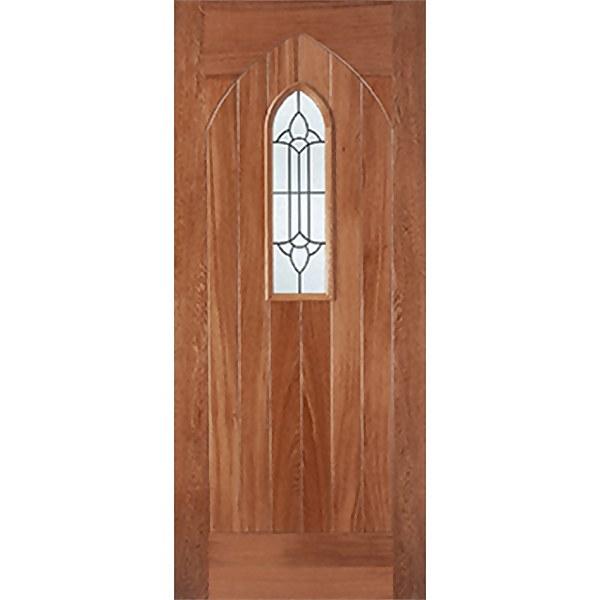 Westminster External Glazed Unfinished Hardwood 1 Lite Door - 813 x 2032mm