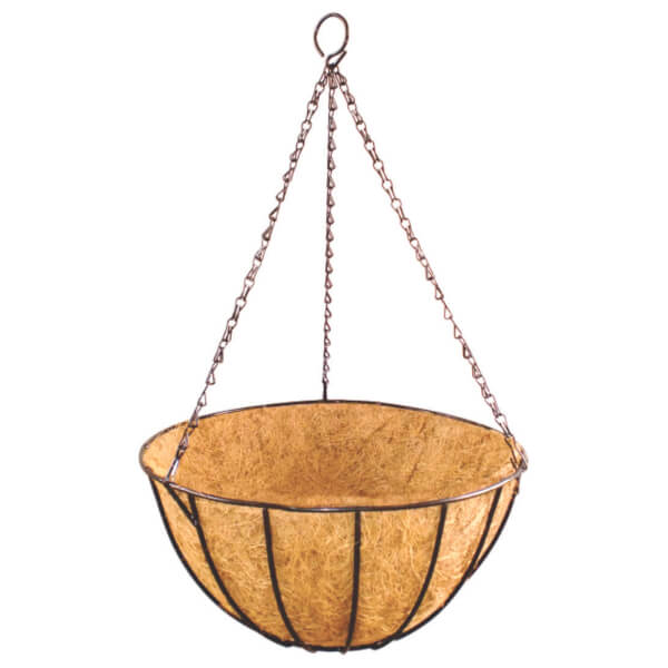 Hanging Basket With Coco Liner 35cm