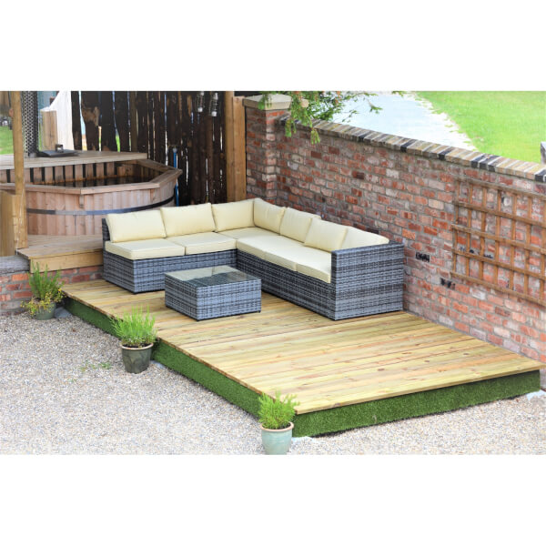 Swift Deck Complete Decking Kit - 2.4 x 4.7m