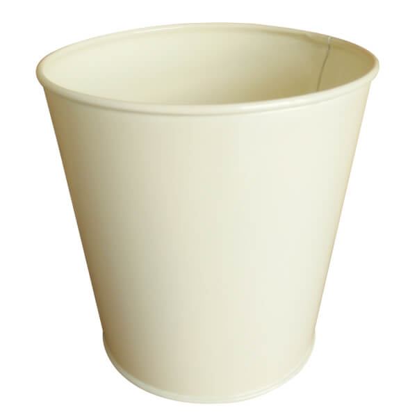 Cream Single Planter 10.5cm