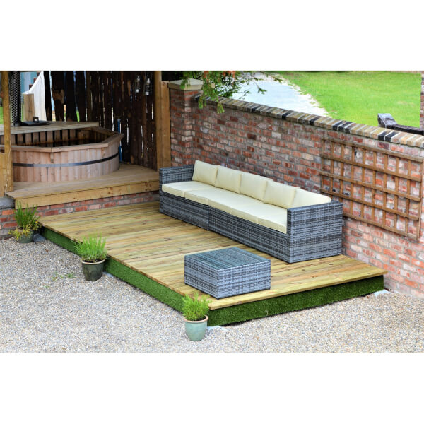 Swift Deck Complete Decking Kit - 2.4 x 9.3m