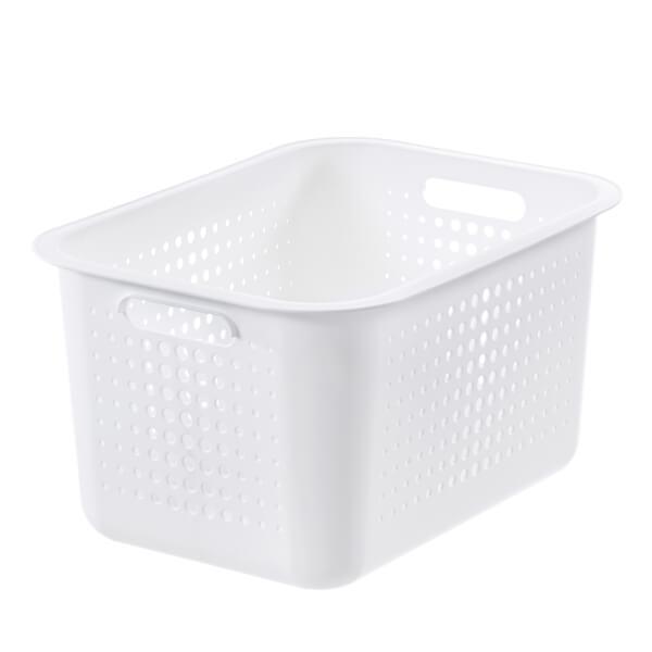 Smartstore 13L Wardrobe Basket - White