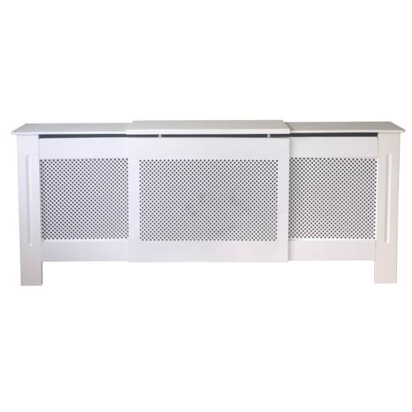 Diamond White Radiator Cover - Adjustable