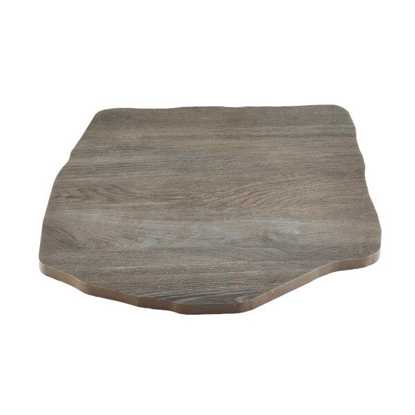 Porcelain Stepping Stone Silver Oak