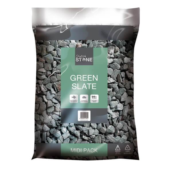 Stylish Stone Green Slate 20mm - Midi Pack