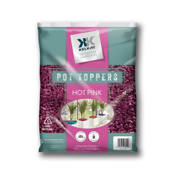 Hot Pink Pot Topper - Handy Pack