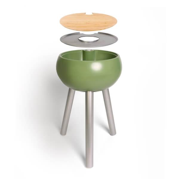 Outside Gang Homebird Outdoor Cool Box Table Integrated Ice Bucket - Safari