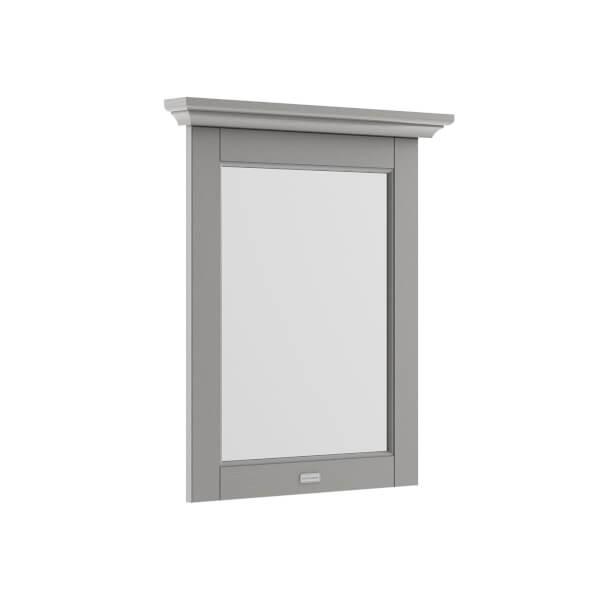 Balterley Harrington Flat Mirror - Storm Grey