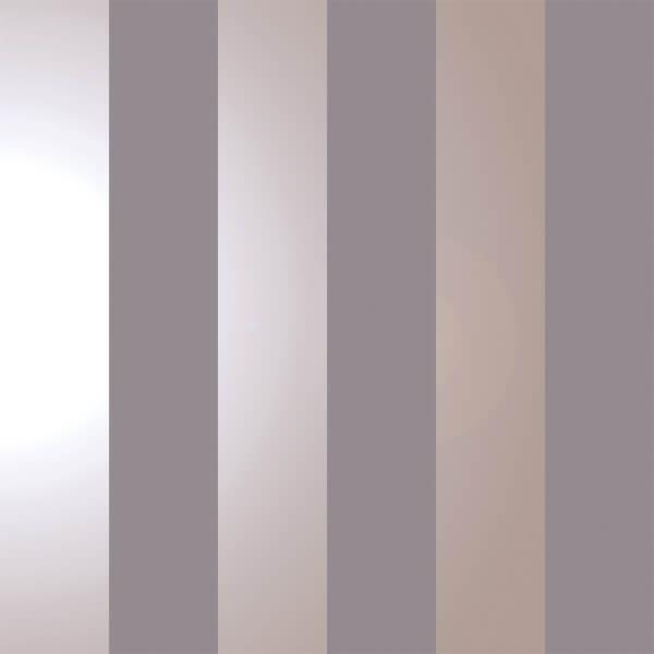 Holden Decor Dillan Stripe Smooth Metallic Dark Grey and Rose Gold Wallpaper