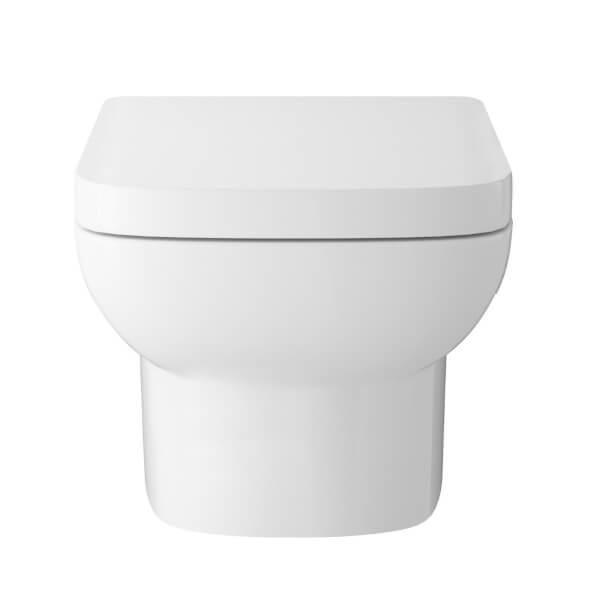 Balterley Alba Wall Hung WC and Soft Close Seat