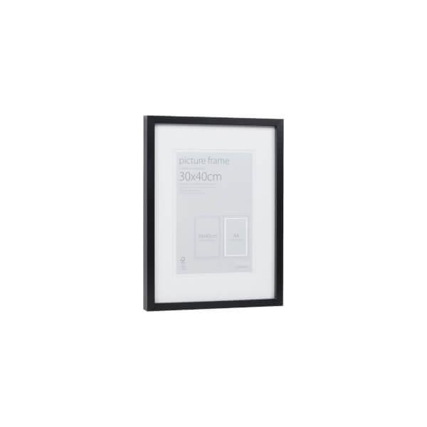 Picture Frame Black 30 x 40cm