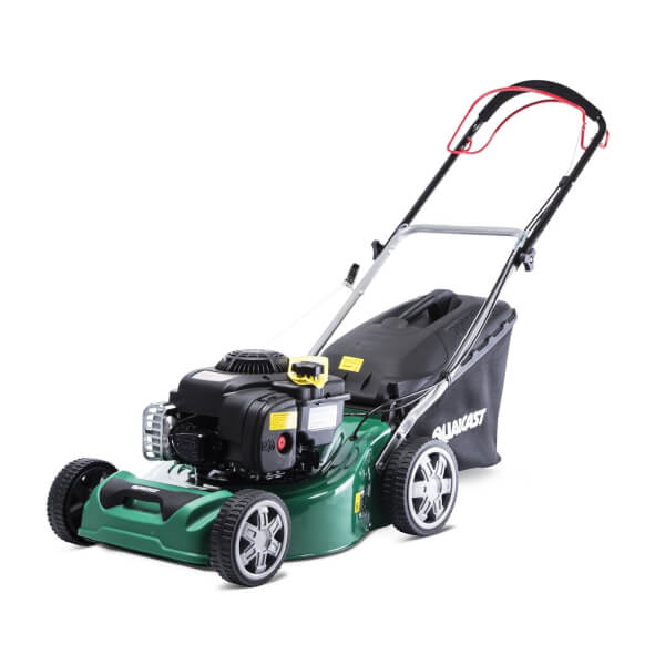 Qualcast 41cm Petrol Self Propelled Lawn Mower 300E