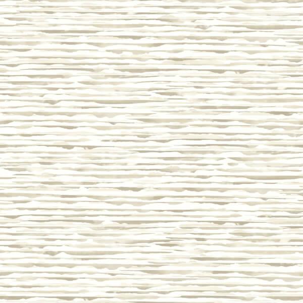Holden Decor Danxia Plain Smooth Metallic Cream Wallpaper