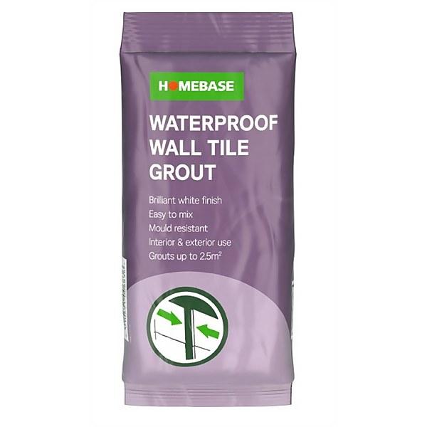 Homebase Powder Wall Grout - 500g