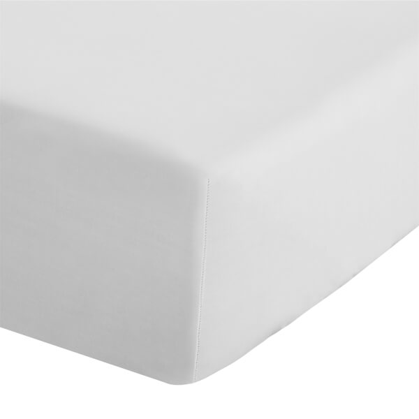 Easy Iron Percale King Size Fitted Sheet