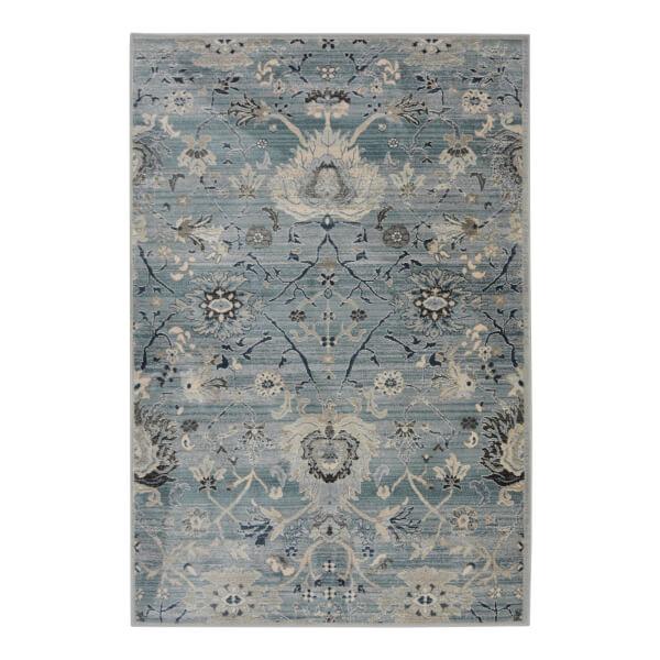 Oriental Tapestry Blue Rug - 80 x 147cm