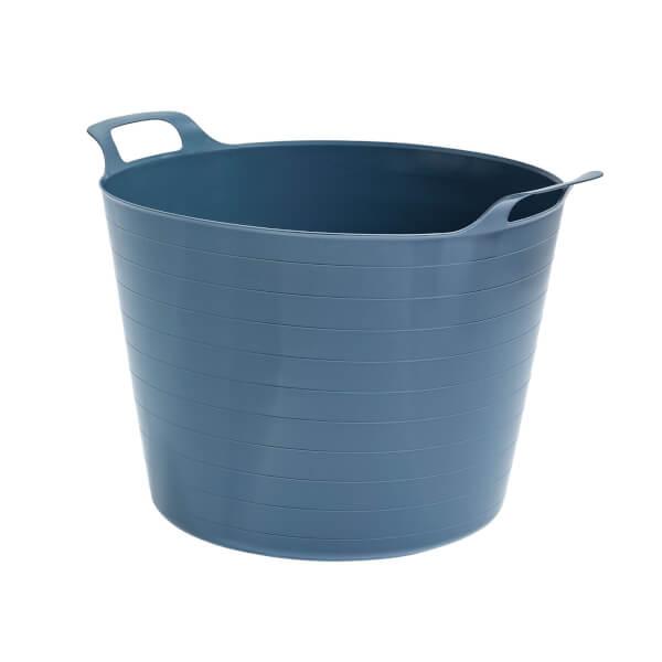 40L Flexi Tub - Dark Grey